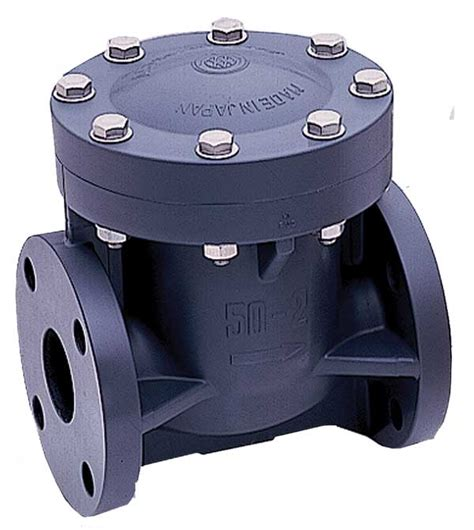 3 Quot Pvc Epdm Flanged Swing Check Valve