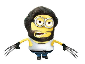 Imagenes Minion Wolverine | 1000 images about minions on pinterest despicable me 2