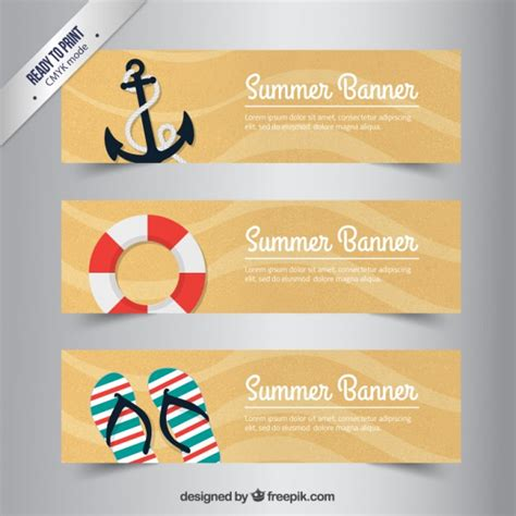 Retro Wedding Banner by Retro Summer Banners Vector Free