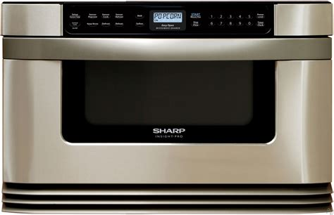 Sharp Microwave Drawer Installation by Sharp Kb6024m 24 Quot Built In Microwave Drawer With 1 0 Cu
