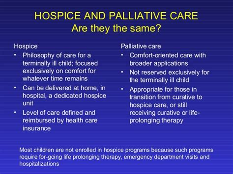 Comfort Hospice And Palliative Care Palliative Care In Pediatric Patients