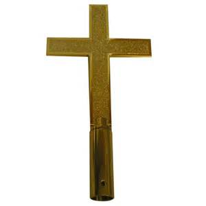 plastic classic church cross finial flags international
