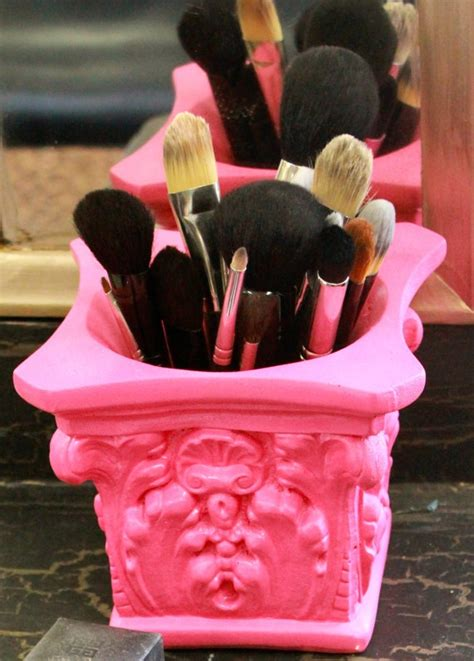 Brush Holder Pink discover and save creative ideas