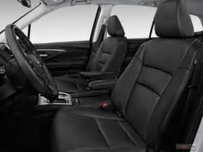 Honda Pilot Seating Capacity 2016 Honda Pilot Pictures Front Seat U S News Best Cars