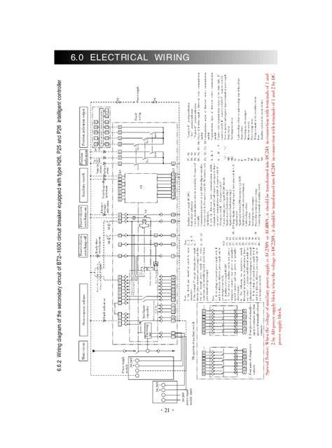 wiring diagram acb schneider