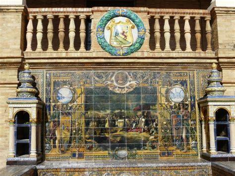 azulejos en sevilla azulejos en la plaza de espa 241 a sevilla