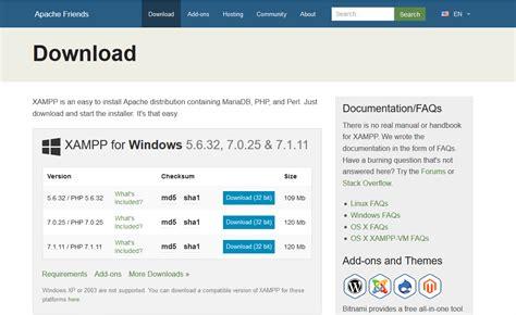 membuat web service net membuat web server local menggunakan xampp di windows 10