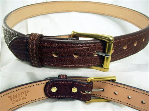 premium and belts hopp custom leather