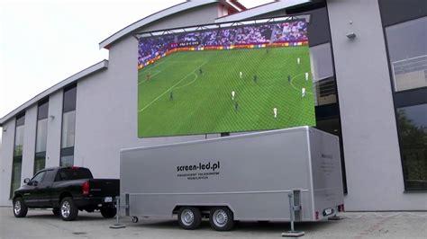 Monitor Led Mobil trailer led przyczepa led od screen led pl mobiled mobile led screen
