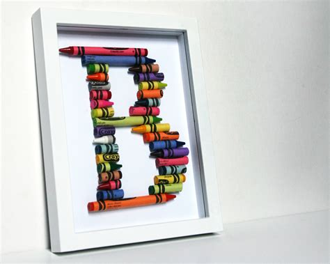 5 Letter Words Out Of Crayon a letter using crayons pictures to pin on