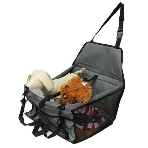 pet car seat carrier folding pet cat puppy car seat safety belt cover