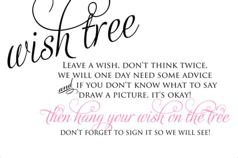 wishing tree tags template help wording on wishing advice tree weddingbee
