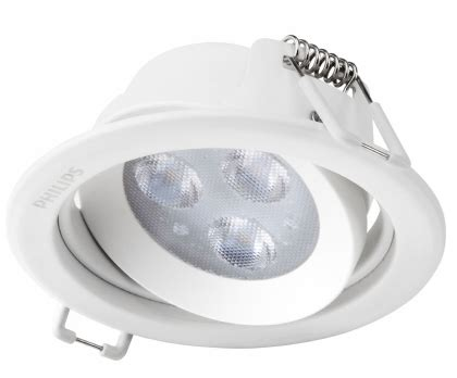 Philips 59722 Esscus 5w 40k Led Downlight Spot Cool White philips 59722 esscus 069 5w 40k wh distributor lu philips