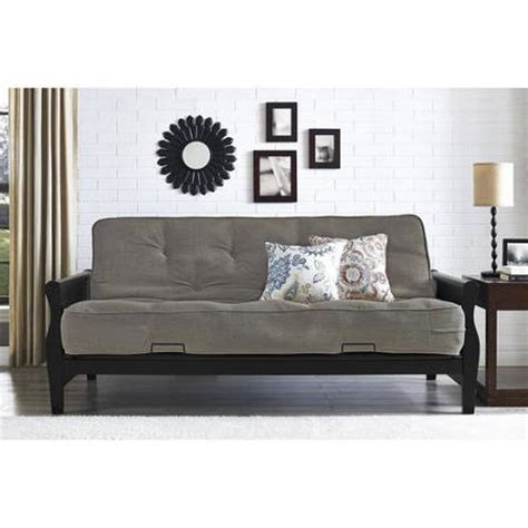 better homes and gardens futon better homes and gardens wood arm futon from walmart
