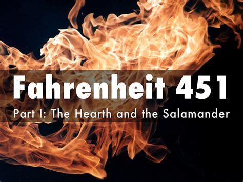 theme of fahrenheit 451 the hearth and the salamander fahrenheit 451 by thomas kawel