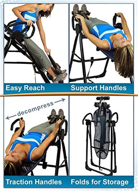 teeter hang ups ep 950 inversion table aim workout