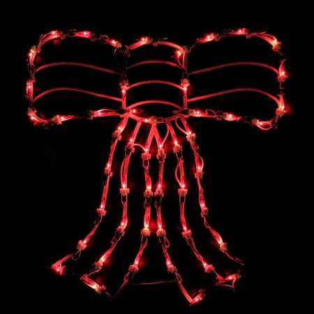 illuminated red bow window silhouette 18 quot lighted bow window silhouette decoration walmart