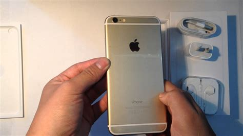 Iphone 6 Enam S 128gb Gold apple iphone 6 plus gold 128gb unboxing and iphone 5