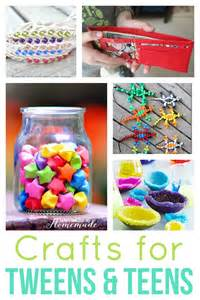 Awesome creative craft ideas for teens and tweens will keep your kids