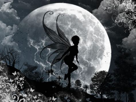 dark fairy live wallpaper wallpapersafari