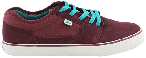 Dc Mens Tonic S dc tonik s maroon skate shoes ebay