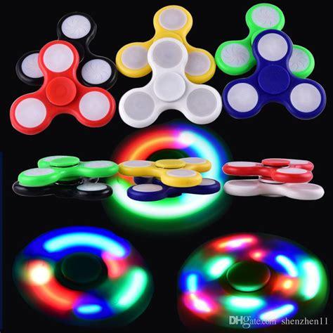 a light up fidget spinner 2017 led light up spinners fidget spinner top quality