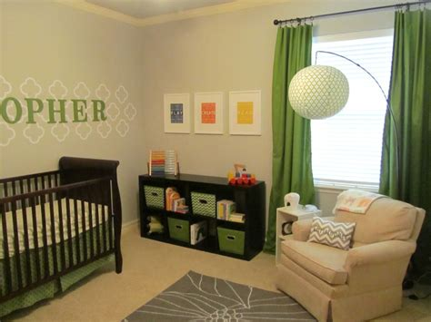 green nursery decor nurseries and we this week