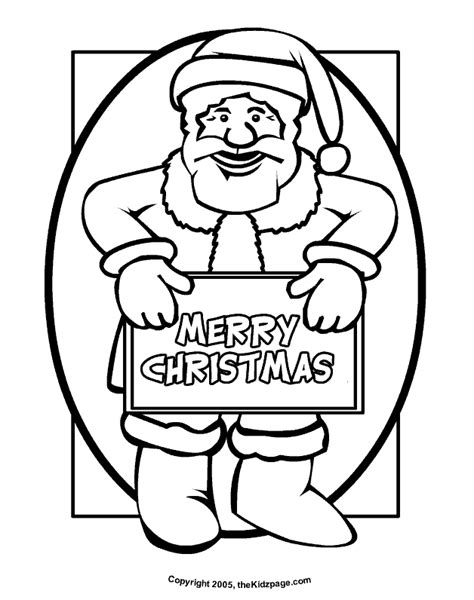 Merry Christmas Color Pages Coloring Home Merry Coloring Pages