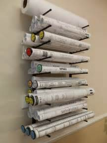 wall mount plan racks