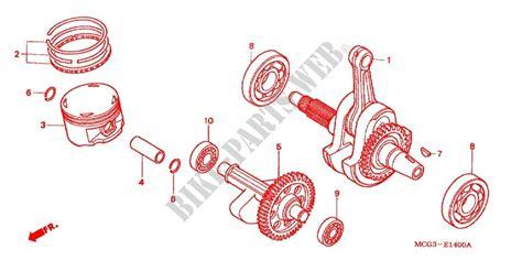 Piston 0 25 Vario 13102 Kvb 930 vilebrequin piston moteur nx4001 2001 nx 400 moto honda moto honda motos catalogue de pi 232 ces