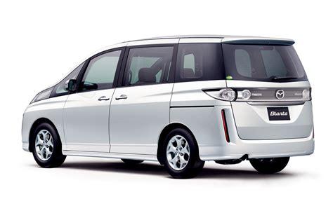 mazda van new mazda releases all new biante minivan