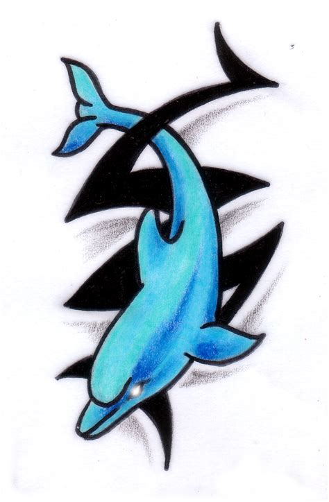 tattoo designs of dolphins tribal dolphin design 10 dolphin design