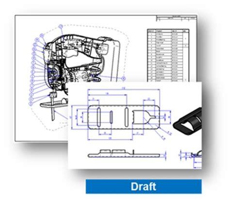 tavola disegno digitale broadcast solid edge messa in tavola e distinta