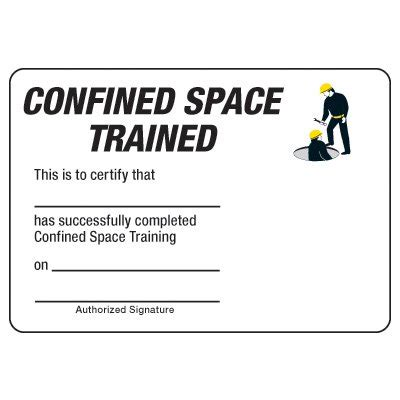 wallet size certification card pdf template certification photo wallet cards confined space trained