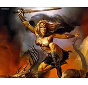 Fantasy Warrior Queen By Boris Vallejo Picture Nr 20867