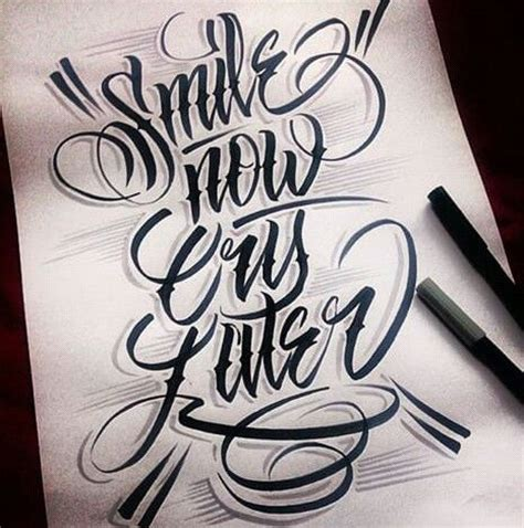 alphabet tattoo artist chicano lettering lettering pinterest chicano