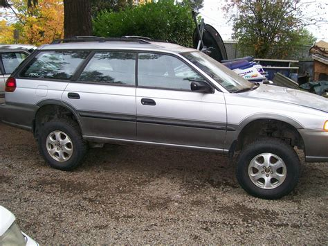 subaru outback lifted subaruguy72 1999 subaru outback specs photos