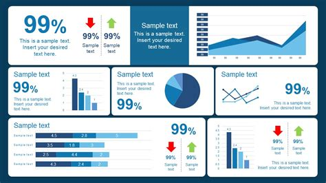 10 Best Dashboard Templates For Powerpoint Presentations Powerpoint Dashboard Exles