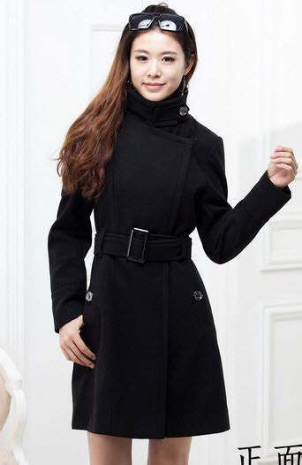 Korea Dress Shania Black Size L casual dresses 341c041 korean style coat zzipper front size s m l xl black was