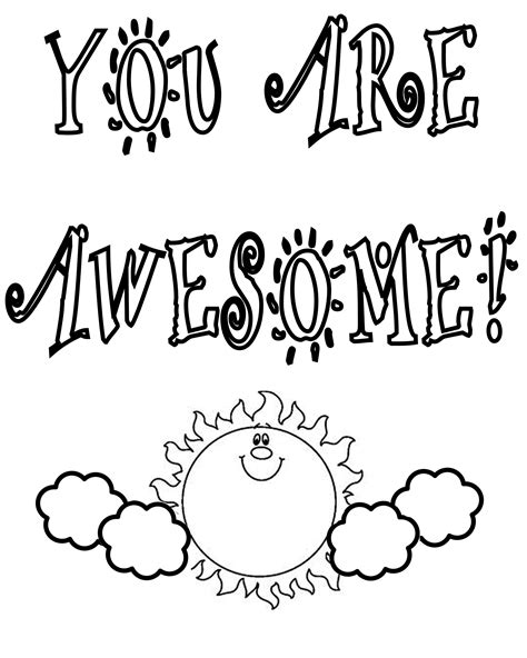 free coloring pages of thank you note cards