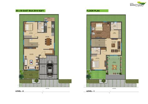 30x50 House Design by 30x50 House Design Floor Plan Icon Infra Shelters Pvt Ltd Icon