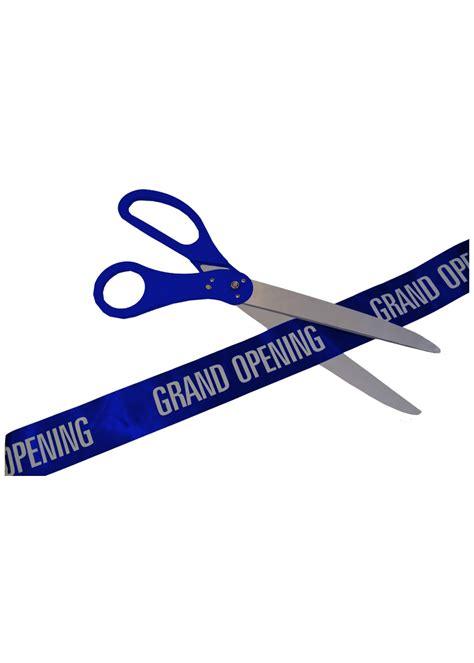 Kid Big Ribon Gl Ribbon Kid Diskon 30 inch blue ceremonial ribbon cutting scissors