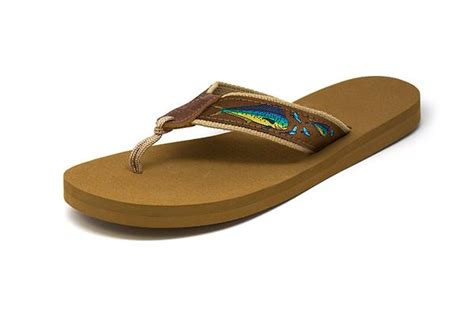 zep pro s dolphin brown ribbon sandals j m tackle