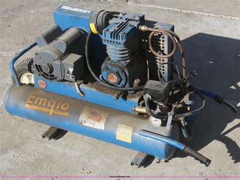 emglo air compressor item s9781 sold wednesday february