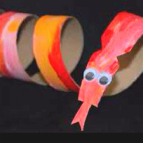 Paper Towel Roll Crafts For Preschoolers - snake paper towel roll school ideas paper
