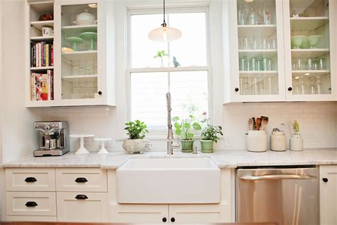 white or cream kitchen cabinets white subway tile kitchen ifresh design