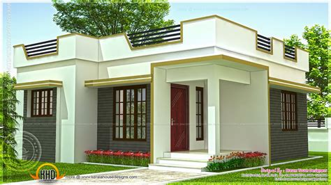 home design for small homes kerala small house low budget plan modern plans