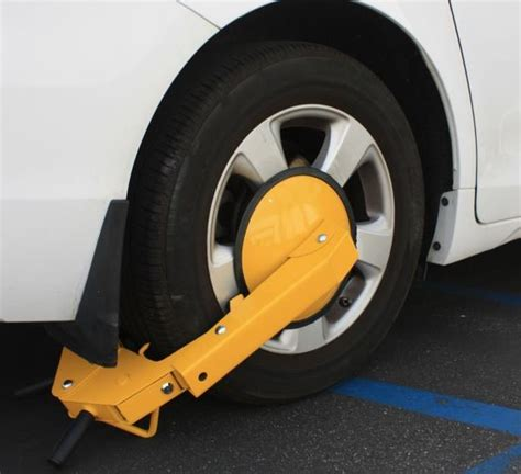 boat trailer wheel lock anti theft wheel lock cl boot tire claw parking car