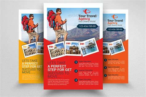 paranormal tour rack card free template tour travel agency flyer template flyer templates