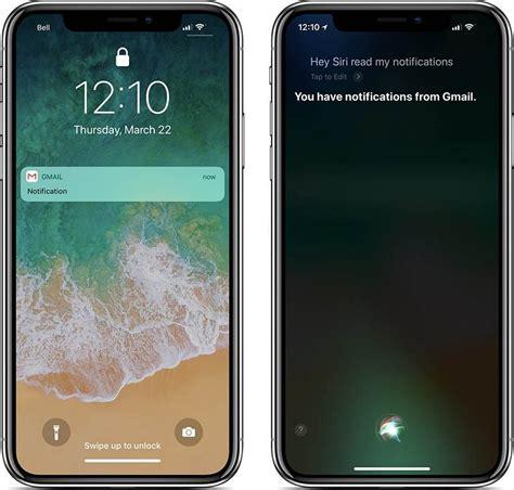 apple  prevent siri  reading hidden notifications